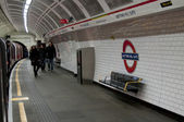Notting Hill Gate London tube — Stock Photo