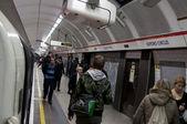 Oxford Circus London tube — Stock Photo