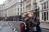Near St. Paul's Cathedral — Stockfoto
