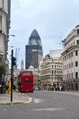 Londres reino unido, calle reina victoria — Foto de Stock