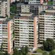 Aerial view blocks of flats — Stock Photo #8824066