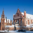St Anne's and Bernardinu Churches in Vilnius — Stock Photo