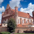 Foto de Stock  : Bernardine Church in Vilnius