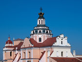 St Casimir Church in Vilnius Lithuania — Stock fotografie