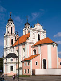 St Catherines Church in Vilnius, Lithuania — Stock Photo