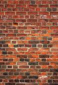 多彩老英语红砖墙背景. — 图库照片