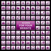 Set web icons — Stock Vector