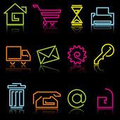 Line icons — Stockvector