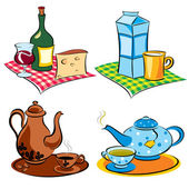 Drinks — Stock Vector