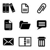 Computer icons — Vecteur