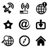 Computer web icons — Stock Vector