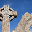 Celtic Stone cross — Stock Photo #10042707