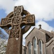 Stock Photo: Celtic Stone cross