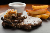 Rib-Eye Steak, shallow DOF — Stock Photo