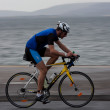 Cyclist, Robert Doherty (675), panning technique — Stock Photo