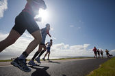 Runners, triathlon — Stock Photo
