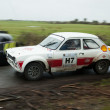 M.Creaven driving Ford Mk1 — Stock Photo