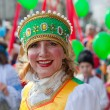 Frau in russischer Tracht — Stockfoto #9656402
