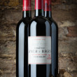 Bottle of Red 2004 Chteau Lynch-Bages - Stock Photo