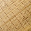 Close up of bamboo curtain pattern material — Stock Photo