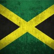 Stock Photo: Grunge flag of Jamaica