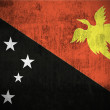 Grunge flag of Papua New Guinea — Foto de Stock