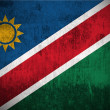 Grunge flag of Namibia — Foto de Stock