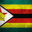 Grunge Flag Of Zimbabwe — Stock Photo #8594628
