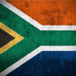 Stock Photo: Grunge Flag Of South Africa