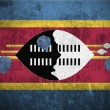 Grunge Flag Of Swaziland — Foto de Stock