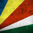 Stock Photo: Grunge Flag Of Seychelles