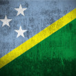 Grunge Flag Of Solomon Islands — Foto de Stock