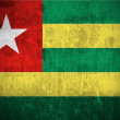 Grunge Flag Of Togo — Stockfoto