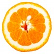 Isolated  orange fruit — Stockfoto