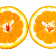 Stock Photo: Isolated orange fruit