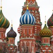 St. Basil Cathedral in Moscow, Russia — Foto Stock