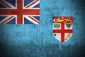 Grunge flag of Fiji — Stock Photo