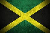 Grunge flag of Jamaica — Stock Photo