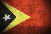 Grunge flag of East Timor — Stock Photo