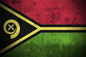 Grunge Flag Of Vanuatu — Stock Photo