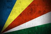 Grunge Flag Of Seychelles — Stock Photo