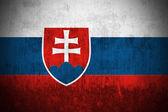 Grunge Flag Of Slovakia — Stock Photo