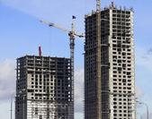 Crane near building — Stock Photo