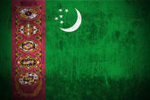 Grunge Flag Of Turkmenistan — Stock Photo