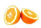 Isolated orange fruit — Stock Photo