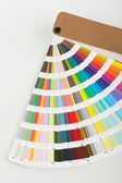 Pantone color palette — Stock Photo