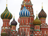St. Basil Cathedral in Moscow, Russia — Стоковое фото