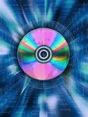 Blue disk — Stockfoto