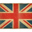 Stock Photo: Grunge flag of United Kingdom