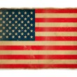 Grunge flag of USA — Photo